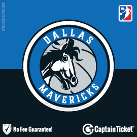 Buy Dallas Mavericks tickets for less with no service fees at Captain Ticket™ - The Original No Fee Ticket Site! #FanArtByRoxxi