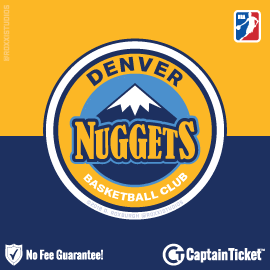 Buy Denver Nuggets tickets cheaper with no fees at Captain Ticket™ - The Original No Fee Ticket Site!