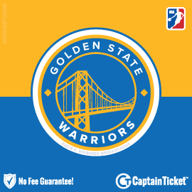 Buy Golden State Warriors tickets cheaper with no fees at Captain Ticket™ - The Original No Fee Ticket Site!