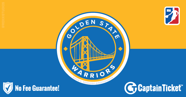 94d90cbe3b1 ... Buy Golden State Warriors tickets cheaper with no fees at Captain Ticket™  - The Original