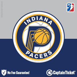 Buy Indiana Pacers tickets for less with no service fees at Captain Ticket™ - The Original No Fee Ticket Site! #FanArtByRoxxi