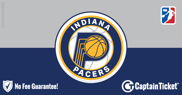 Buy Indiana Pacers tickets cheaper with no fees at Captain Ticket™ - The Original No Fee Ticket Site!