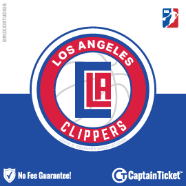 Buy Los Angeles Clippers tickets cheaper with no fees at Captain Ticket™ - The Original No Fee Ticket Site!