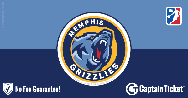 Buy Memphis Grizzlies tickets cheaper with no fees at Captain Ticket™ - The Original No Fee Ticket Site!