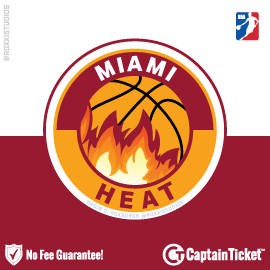 Buy Miami Heat tickets cheaper with no fees at Captain Ticket™ - The Original No Fee Ticket Site!