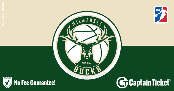 Buy Milwaukee Bucks tickets cheaper with no fees at Captain Ticket™ - The Original No Fee Ticket Site!