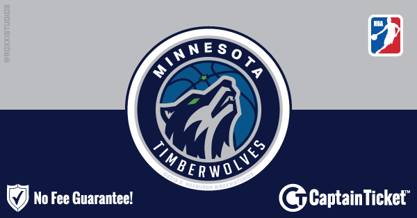 Buy Minnesota Timberwolves tickets cheaper with no fees at Captain Ticket™ - The Original No Fee Ticket Site!