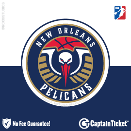 Buy New Orleans Pelicans tickets for less with no service fees at Captain Ticket™ - The Original No Fee Ticket Site! #FanArtByRoxxi
