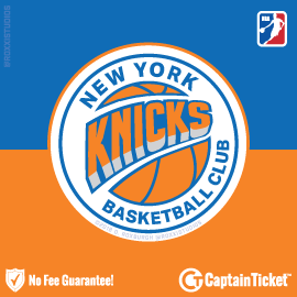 Buy New York Knicks tickets cheaper with no fees at Captain Ticket™ - The Original No Fee Ticket Site!