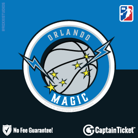 Buy Orlando Magic tickets for less with no service fees at Captain Ticket™ - The Original No Fee Ticket Site! #FanArtByRoxxi