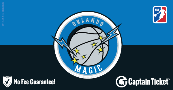 Get Orlando Magic tickets for less with everyday low prices and no service fees at Captain Ticket™ - The Original No Fee Ticket Site! #FanArtByRoxxi