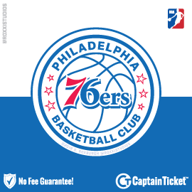 Buy Philadelphia 76ers tickets for less with no service fees at Captain Ticket™ - The Original No Fee Ticket Site! #FanArtByRoxxi