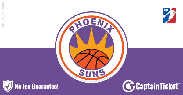 Phoenix Suns Tickets Cheaper With No Fees Captain Ticket