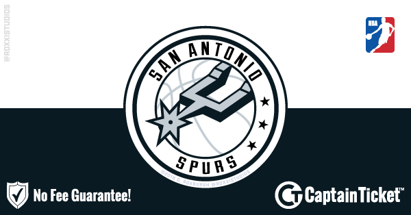 Buy San Antonio Spurs tickets cheaper with no fees at Captain Ticket™ - The Original No Fee Ticket Site!