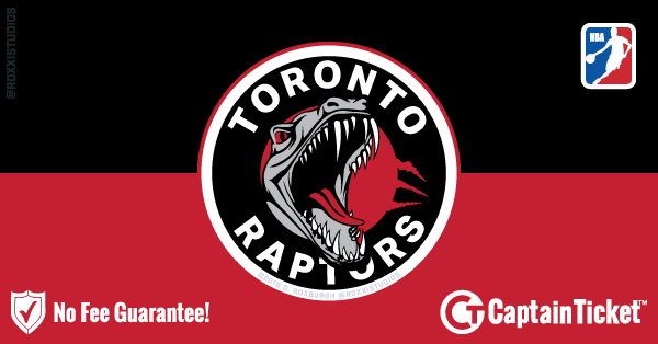 Buy Toronto Raptors tickets cheaper with no fees at Captain Ticket™ - The Original No Fee Ticket Site!