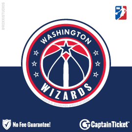 Buy Washington Wizards tickets cheaper with no fees at Captain Ticket™ - The Original No Fee Ticket Site!