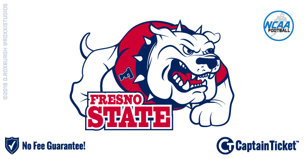 Buy Fresno State Bulldogs Football tickets cheaper with no fees at Captain Ticket™ - The Original No Fee Ticket Site!