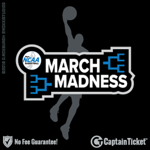 NCAA Basketball Tournament Tickets & Schedule - no service fees on any tickets at CaptainTicket.com