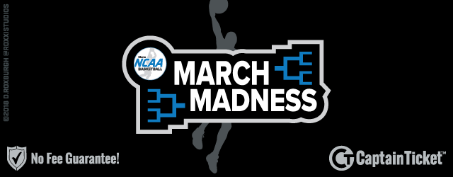 NCAA March Madness Basketball Tournament Tickets No Fees