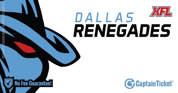 Get Dallas Renegades tickets for less with everyday low prices and no service fees at Captain Ticket™ - The Original No Fee Ticket Site! #FanArtByRoxxi