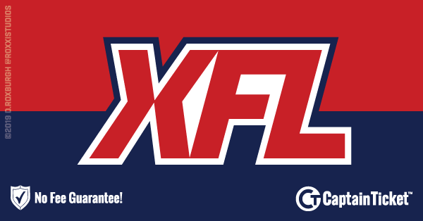 Buy XFL tickets cheaper with no fees at Captain Ticket™ - The Original No Fee Ticket Site!