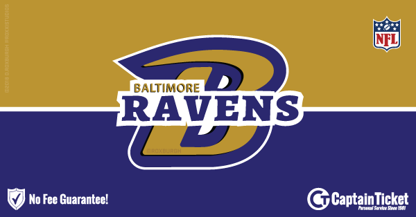 Get Baltimore Ravens tickets for less with everyday low prices and no service fees at Captain Ticket™ - The Original No Fee Ticket Site! #FanArtByRoxxi