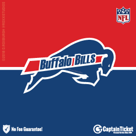 Buy Buffalo Bills tickets cheaper with no fees at Captain Ticket™ - The Original No Fee Ticket Site!