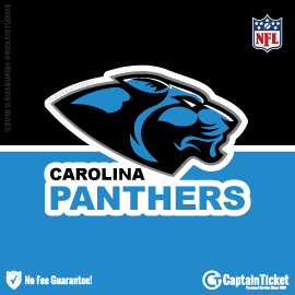 Buy Carolina Panthers tickets for less with no service fees at Captain Ticket™ - The Original No Fee Ticket Site! #FanArtByRoxxi