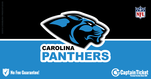 Get Carolina Panthers tickets for less with everyday low prices and no service fees at Captain Ticket™ - The Original No Fee Ticket Site! #FanArtByRoxxi
