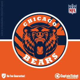 Buy Chicago Bears tickets cheaper with no fees at Captain Ticket™ - The Original No Fee Ticket Site!