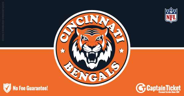 Get Cincinnati Bengals tickets for less with everyday low prices and no service fees at Captain Ticket™ - The Original No Fee Ticket Site! #FanArtByRoxxi