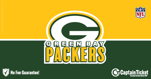 Buy Green Bay Packers tickets cheaper with no fees at Captain Ticket™ - The Original No Fee Ticket Site!