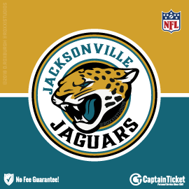 Buy Jacksonville Jaguars tickets for less with no service fees at Captain Ticket™ - The Original No Fee Ticket Site! #FanArtByRoxxi
