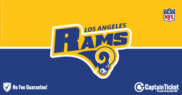 Get Los Angeles Rams tickets for less with everyday low prices and no service fees at Captain Ticket™ - The Original No Fee Ticket Site! #FanArtByRoxxi