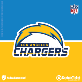 Buy Los Angeles Chargers tickets for less with no service fees at Captain Ticket™ - The Original No Fee Ticket Site! #FanArtByRoxxi