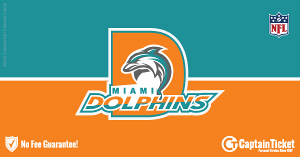 Buy Miami Dolphins tickets cheaper with no fees at Captain Ticket™ - The Original No Fee Ticket Site!
