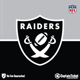 Buy Oakland Raiders tickets cheaper with no fees at Captain Ticket™ - The Original No Fee Ticket Site!