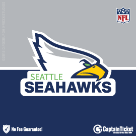 Buy Seattle Seahawks tickets cheaper with no fees at Captain Ticket™ - The Original No Fee Ticket Site!