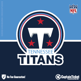 Buy Tennessee Titans tickets for less with no service fees at Captain Ticket™ - The Original No Fee Ticket Site! #FanArtByRoxxi