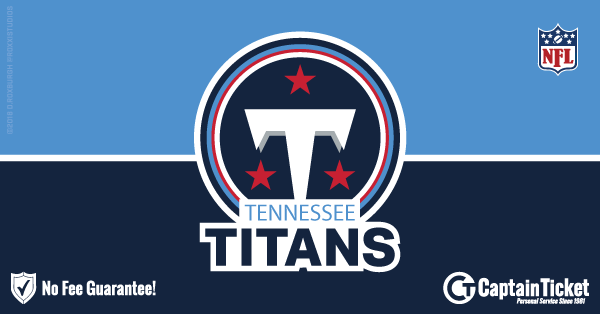 Get Tennessee Titans tickets for less with everyday low prices and no service fees at Captain Ticket™ - The Original No Fee Ticket Site! #FanArtByRoxxi