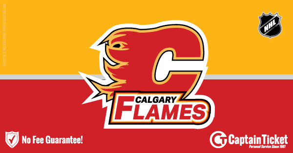 Get Calgary Flames tickets for less with everyday low prices and no service fees at Captain Ticket™ - The Original No Fee Ticket Site! #FanArtByRoxxi