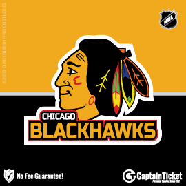 Buy Chicago Blackhawks tickets cheaper with no fees at Captain Ticket™ - The Original No Fee Ticket Site!