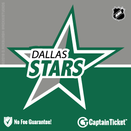 Buy Dallas Stars tickets for less with no service fees at Captain Ticket™ - The Original No Fee Ticket Site! #FanArtByRoxxi