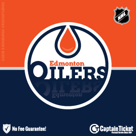 Buy Edmonton Oilers tickets for less with no service fees at Captain Ticket™ - The Original No Fee Ticket Site! #FanArtByRoxxi