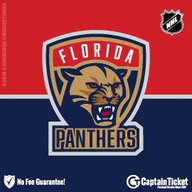 Buy Florida Panthers tickets for less with no service fees at Captain Ticket™ - The Original No Fee Ticket Site! #FanArtByRoxxi