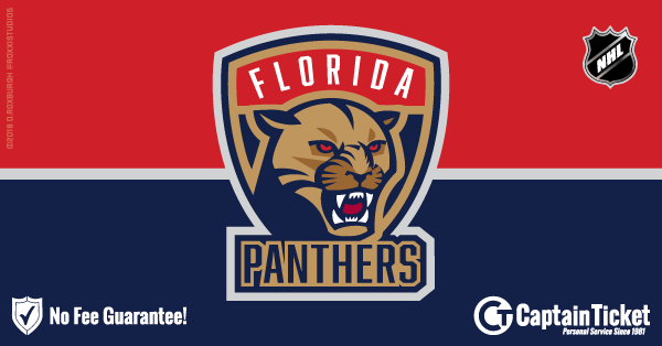 Get Florida Panthers tickets for less with everyday low prices and no service fees at Captain Ticket™ - The Original No Fee Ticket Site! #FanArtByRoxxi