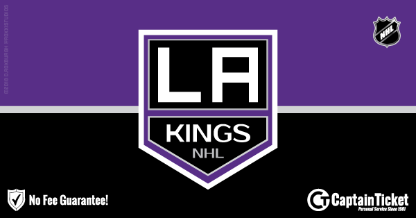 Get Los Angeles Kings tickets for less with everyday low prices and no service fees at Captain Ticket™ - The Original No Fee Ticket Site! #FanArtByRoxxi