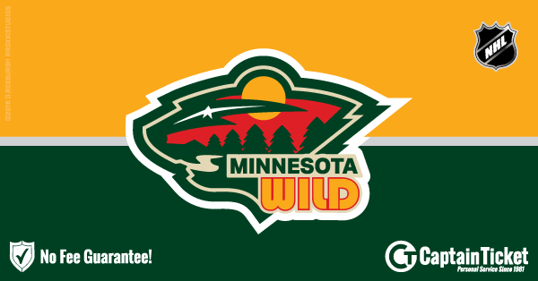 Buy Minnesota Wild tickets cheaper with no fees at Captain Ticket™ - The Original No Fee Ticket Site!