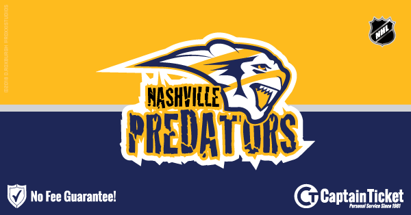 predators ticket deals