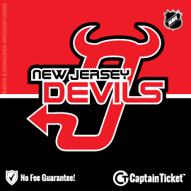 Buy New Jersey Devils tickets for less with no service fees at Captain Ticket™ - The Original No Fee Ticket Site! #FanArtByRoxxi